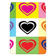 Hearts Removable Flap Cover (Small)