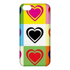 Hearts Apple iPhone 5C Hardshell Case