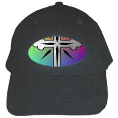 Cross Black Baseball Cap
