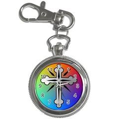 Cross Key Chain Watch