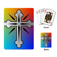 Cross Playing Cards Single Design
