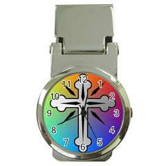 Cross Money Clip with Watch