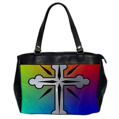 Cross Oversize Office Handbag (one Side)
