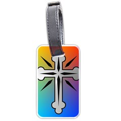Cross Luggage Tag (One Side)
