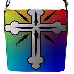 Cross Flap Closure Messenger Bag (Small)