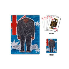 Big Foot H,australia Flag Playing Cards (Mini)