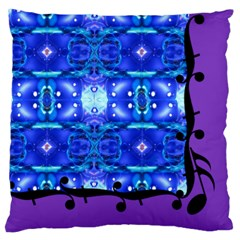 Catlins Dream Large Cushion Case (two Sided)