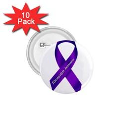 Fibro Awareness Ribbon 1 75  Button (10 Pack)