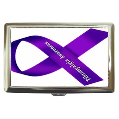 Fibro Awareness Ribbon Cigarette Money Case