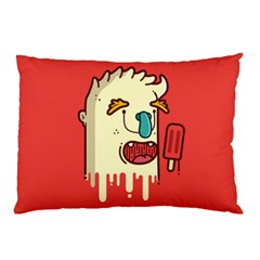 Eat the popsicle and relax Pillow Case (Two Sides)