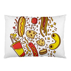 Food Frenzy Pillow Case