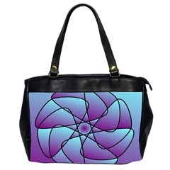 Pattern Oversize Office Handbag (two Sides)