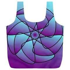 Pattern Reusable Bag (XL)
