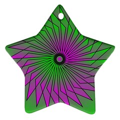 Pattern Star Ornament