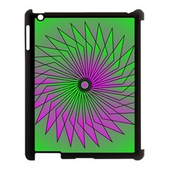 Pattern Apple Ipad 3/4 Case (black)