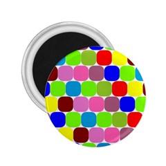 Color 2 25  Button Magnet