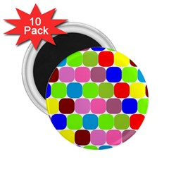 Color 2.25  Button Magnet (10 pack)