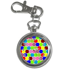 Color Key Chain Watch