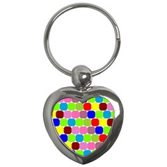 Color Key Chain (heart)