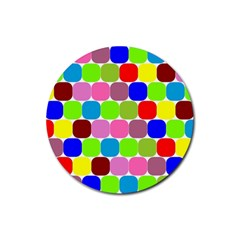 Color Drink Coasters 4 Pack (Round)