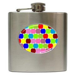 Color Hip Flask