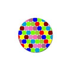 Color Golf Ball Marker 4 Pack