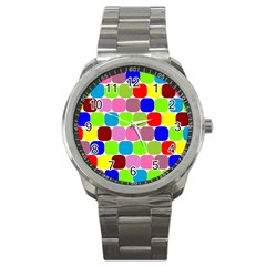 Color Sport Metal Watch