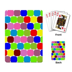 Color Playing Cards Single Design