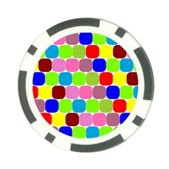 Color Poker Chip