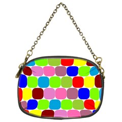 Color Chain Purse (one Side)