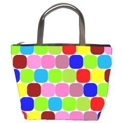 Color Bucket Handbag