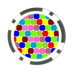 Color Poker Chip (10 Pack)