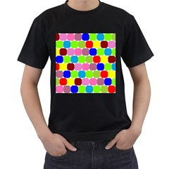 Color Men s T-shirt (Black)