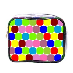 Color Mini Travel Toiletry Bag (one Side)