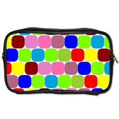 Color Travel Toiletry Bag (two Sides)