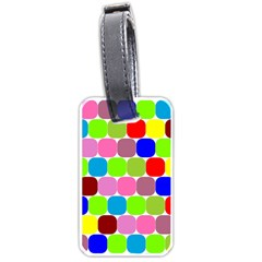 Color Luggage Tag (Two Sides)