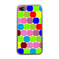Color Apple Iphone 4 Case (clear)
