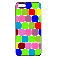 Color Apple Iphone 5 Seamless Case (black)