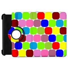 Color Kindle Fire HD 7  (1st Gen) Flip 360 Case