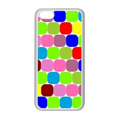 Color Apple iPhone 5C Seamless Case (White)