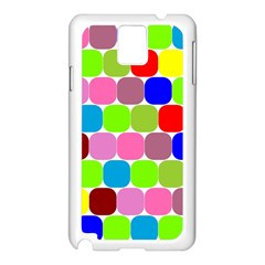 Color Samsung Galaxy Note 3 N9005 Case (White)