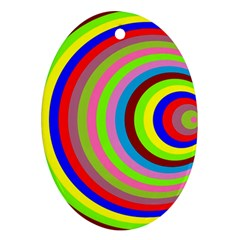 Color Oval Ornament