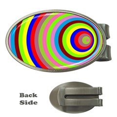 Color Money Clip (Oval)