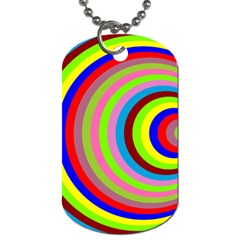 Color Dog Tag (Two-sided)