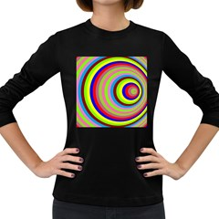 Color Women s Long Sleeve T-shirt (Dark Colored)