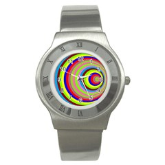 Color Stainless Steel Watch (Slim)