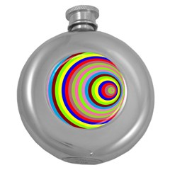 Color Hip Flask (Round)