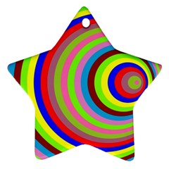 Color Star Ornament (Two Sides)