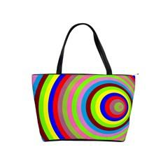 Color Large Shoulder Bag