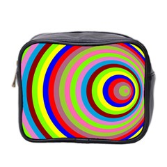 Color Mini Travel Toiletry Bag (two Sides)
